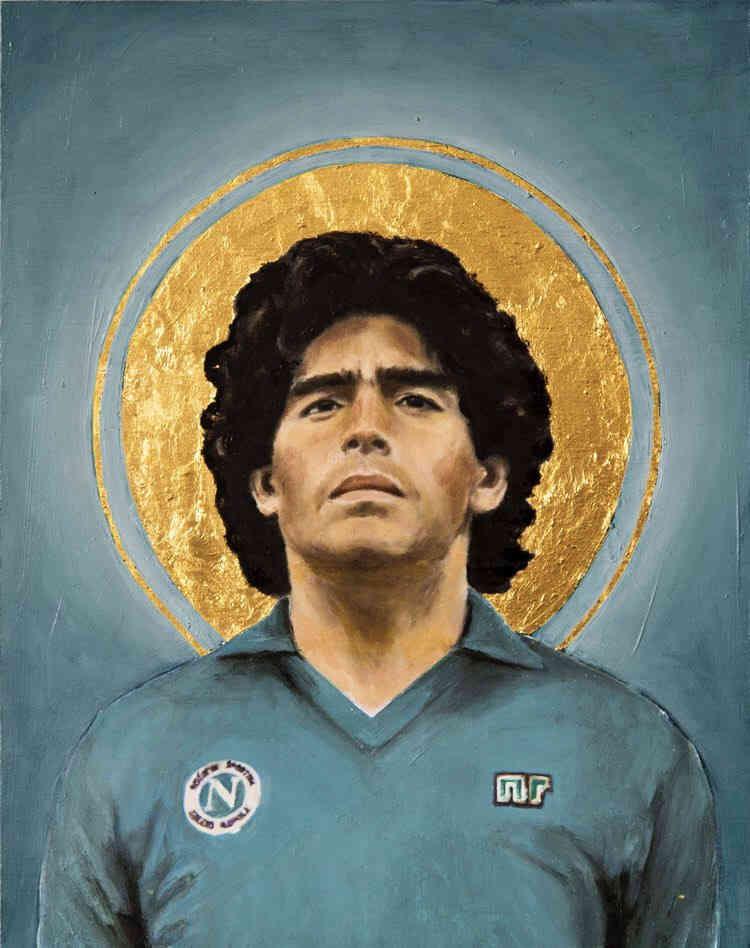 Maradonna Football Icons