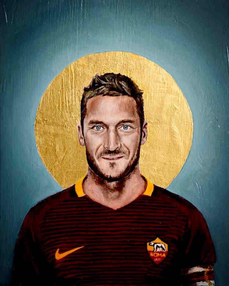 Totti Football Icons